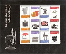 2011 #4546 Pioneers of Industrial Design Pane of 12 MNH