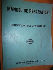 Nissan injection électronique 1978 : manuel d'atelier