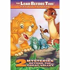 Land Before Time: 2 Mysteries Beyond the Great Valley (DVD, 2005) NEW