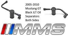 2005-2010 Mustang GT JLT Oil Separator Passenger Side and Driver Side Black NEW