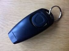 DOG TRAINING CLICKER WITH WHISTLE AND KEYRING TAG (BRAND NEW) BLACK