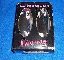 The Osbourne's 2 Piece Large Shot Glass Set MIB
