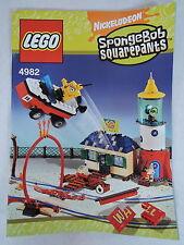 LEGO Recipe/instruction SPONGEBOB 4982