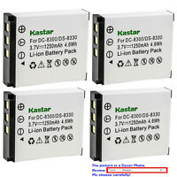 Kastar Replacement Battery Pack for MINOX 02491-0028-01 PRIMA DS8330-1 DS8330