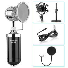 Neewer Desktop Condenser Microphone Kit