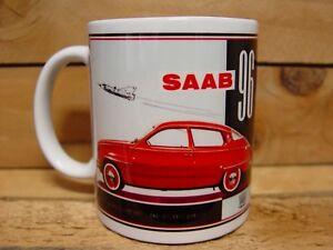 300ml COFFEE MUG - SAAB 96