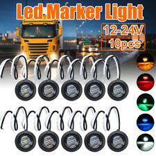 12/24V 3LED Clearance Side Marker Indicators Lights Lamp Lorry Truck Trailer Bus