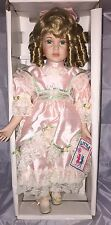 Little Companion Collection Shirleen William Tung Porcelain Doll Tuss Box 26418