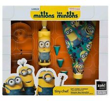 *NEW* Tiny Chef Minions - Let's Make Cookies! 7 Piece Baking Tool Set for Kids