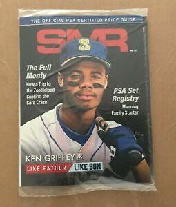 PSA Magazine June 2021 Ken Griffey Jr. 1989 Rookie photo Cover Gem Mint Sealed