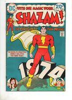 Shazam #11 1ST DC/BRONZE APP MARVEL FAMILY! 1ST SCHAFFENBERGER ART! Fn 6.0 1974