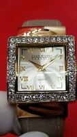 Joan Rivers Classics Women's Cuff Watch, Keeps Time, Crystals Surround Dial