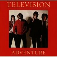 TELEVISION - ADVENTURE CD POP 8 TRACKS NEW