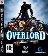 Overlord Ii PS3 Juego Excelente Estado