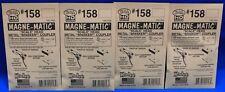 Lot of 4 Packs - HO Scale KADEE # 158 MAGNE-MATIC Metal Couplers 2 Pr. per pack