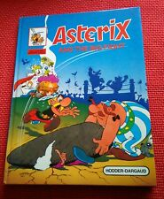 Asterix- and the big fight- vintage- hardback comic- 1984-Great condition