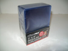 Ultra Pro 3 by 4 inch  Regular Toploader 25 Free card sleves inlcuded!