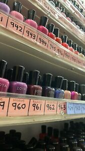 Zoya Nail Polish Lacquer SALE! - Any Color - 847-1075 - Buy 2, Get 1 50% Off