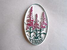 Vintage Yukon Canada Souvenir Rubber Refrigerator Magnet
