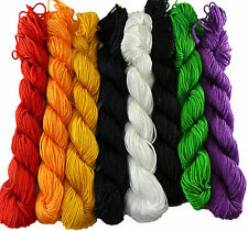 Chinese Knotting Beading Cord Mixed Approx 1mm 8 (25 yard Skeins)