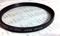 86mm Multi-Coated MC UV Safety Protection Protector Glass Lens Filter 86 mm 86
