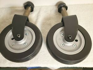 Drive Titan AXS Power Wheelchair Replacement Wheels with Casters
