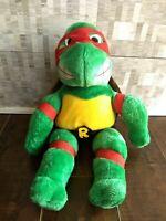 Teenage Mutant Ninja Turtles TMNT Raphael Plush Stuffed Playmates Doll VTG 1989!
