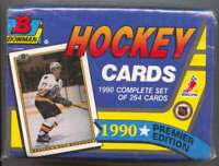 1990-91 Bowman Premier Edition Hockey Set