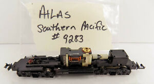 N Scale / Atlas / Southern Pacific/ diesel #9283 / CHASSIS / MOTOR / PARTS