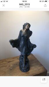 bronze sculpture signed