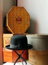 Very Rare Vintage Borsalino Trionfo size 7 1/4 with box and free hat stand