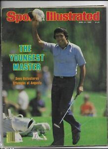 Sports Illustrated April 21 1980 Seve Ballesteros Triumphs at Augusta VG+/NM
