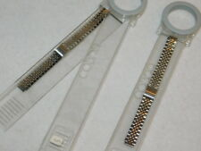 vintage LOT 2 BRACELET COBRA MONTRE FEMME france Watch LADY Watchband UHR inox