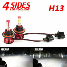 4-sides H13 9008 LED Headlight Kit 2000W 300000LM Hi/lo Beam Bulbs 6000K White