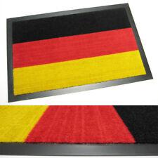 TürmatteFußabtreter Schmutzfangmatte WM-Fan-Matte Deutschland Schwarz-Rot-Gold