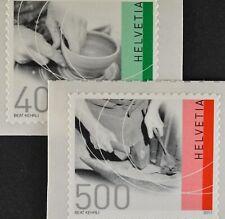 Schweiz 2011 Michel Nr. 2208-09, Freimarken: Traditionelles Handwerk