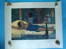 Vintage PAUL GAUGUIN - MATERNITY,  Lithogragh/Art Print (1964)