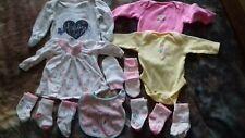 Newborn - Baby Girls Clothes Bundle