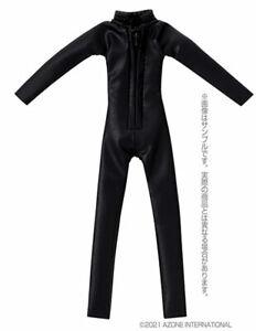 Azone Picco Neemo Wear 1/12 Cat Suit Matte Black (DOLL ACCESSORY)