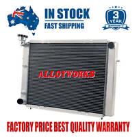 3 Row Core Aluminum Radiator For HOLDEN Commdore VL/VN/VG/VP/VQ/VR/VS 5.0L V8