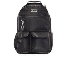 Itzy Ritzy Boss Backpack Diaper Bag Herringbone Black Back Pack New Mom Gift