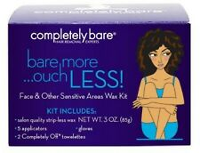 Completely Bare Face - Other Sensitive Areas Wax Kit, 3.0 oz (Pack of 2)