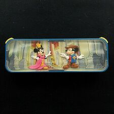 Vintage 2004 McDonald Walt Disney Micky and Minnie Mouse Pencil Box Collectible