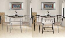 Sets de sillas y mesas de metal para el hogar