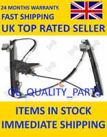 Electric Window Lifter Mechanism Front 130-053-010 ABAKUS for VW