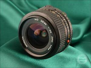 Minolta MD 28mm f3.5 Wide Angle - Excellent - 646