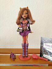 Clawdeen Wolf Basic 1.Wave Monster High Puppe Doll 1.Serie 1.Edition komplett