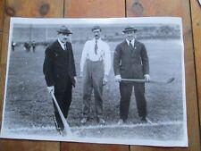 "Michael Collins Irish leader @ hurling match press media photo large 14.5"" x 10"""