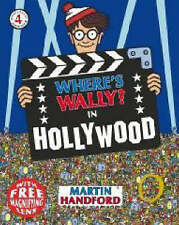 WHERE'S WALLY IN HOLLYWOOD MINI EDITION WITH MAGNIFYING GLASS