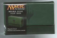 Ultra PRO Magic the Gathering MTG Mana Matte GREEN Dual Flip Deck Box NEW